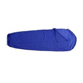 Basic Nature - Drap de sac de couchage momie - bleu
